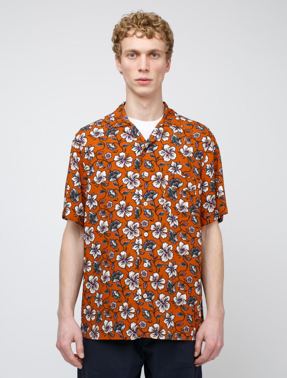 Short Sleeve Flower Shirt