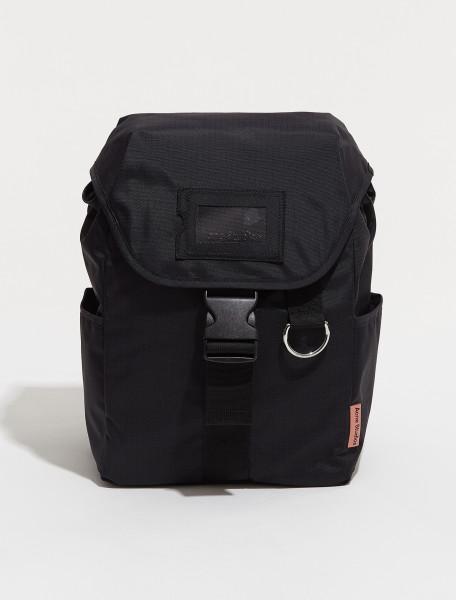 C10110 900 FN UX BAGS000070 ACNE STUDIOS BACKPACK POST RIPSTOP IN BLACK