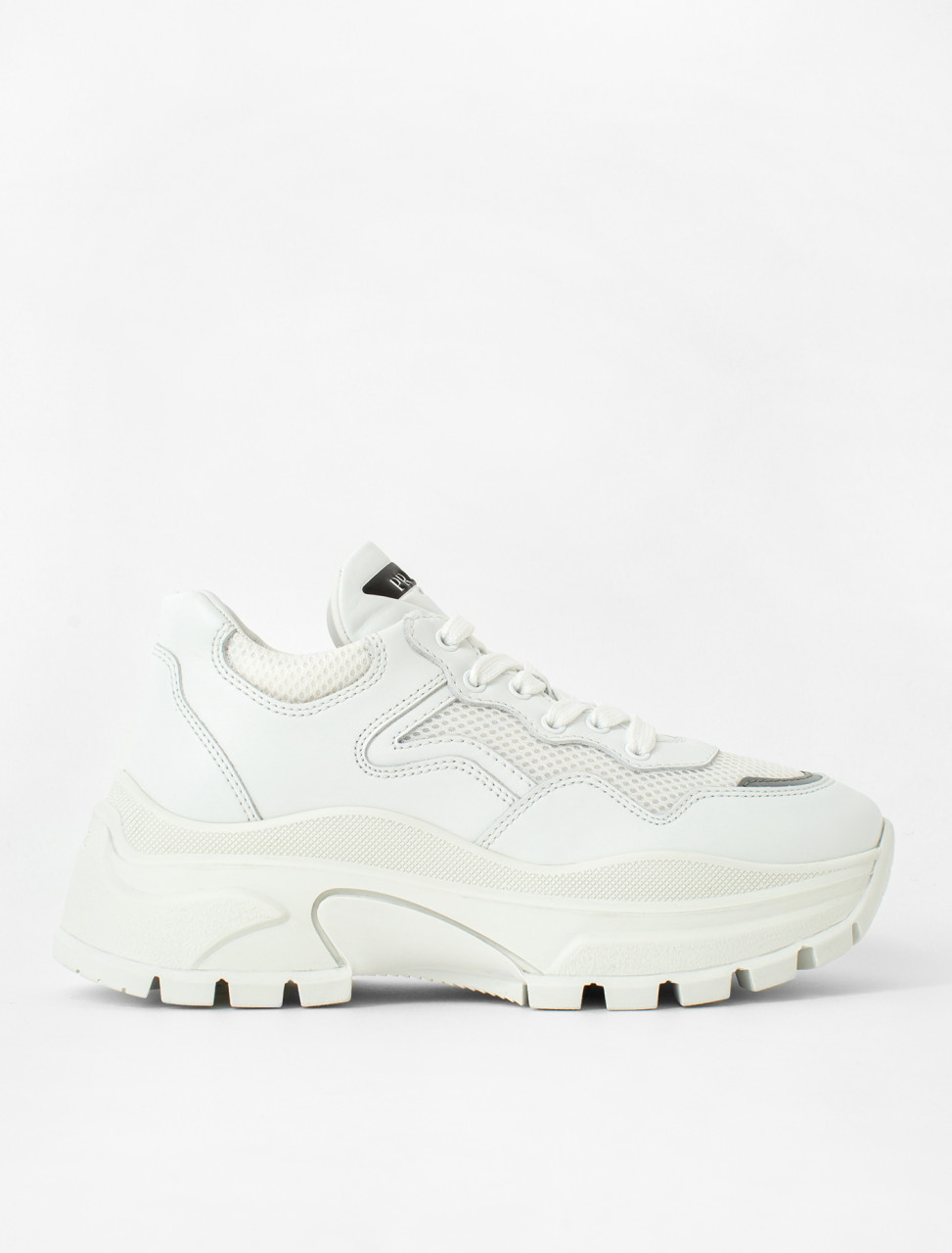 Block Sneaker in White