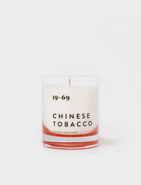 305-900020 19-69 CHINESE TOBACCO SCENTED CANDLE