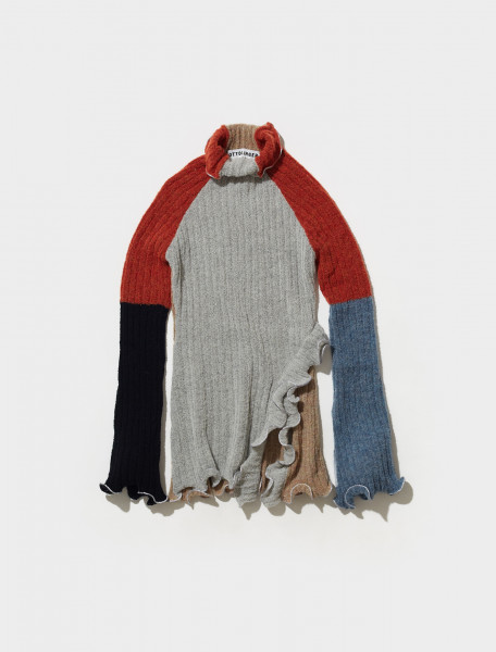 700602_RED_SEA OTTOLINGER RIB KNIT TURTLENECK IN RED SEA