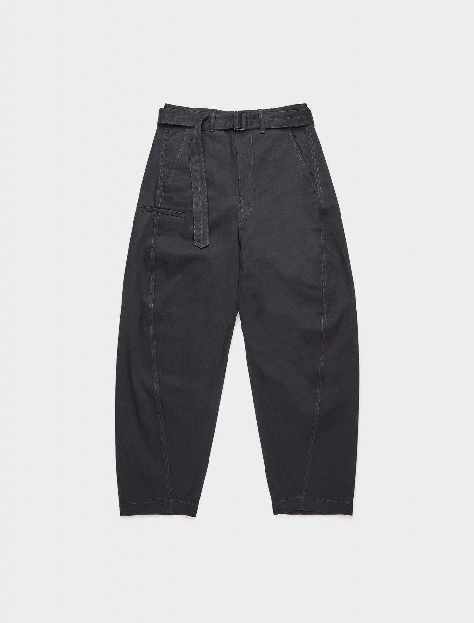 218-M-203-PA137-LD049-999 LEMAIRE TWISTED TROUSER BLACK