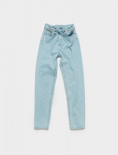 WJEAN32-S20 Y PROJECT PAPERBAG WAIST JEAN IN ICE BLUE