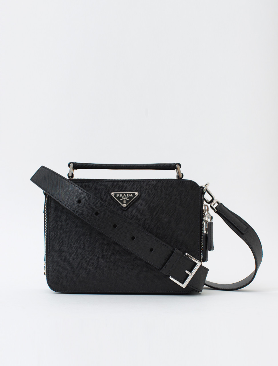 3f8976a68e134 Prada Saffiano Leather Travel Bag | Voo Store Berlin | Worldwide ...