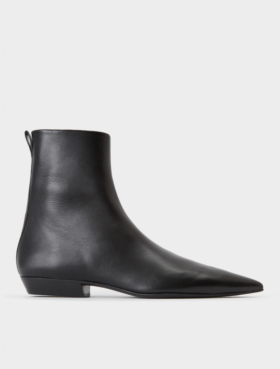 130-JS35022A-12010-001 JIL SANDER Pointed Toe Ankle Boot
