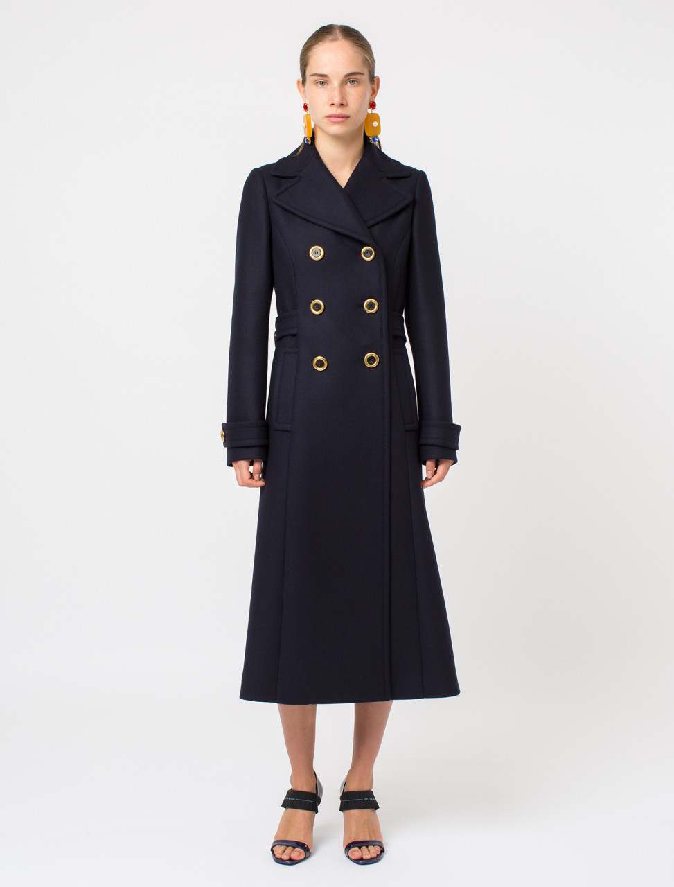 Double Cloth Wool Coat