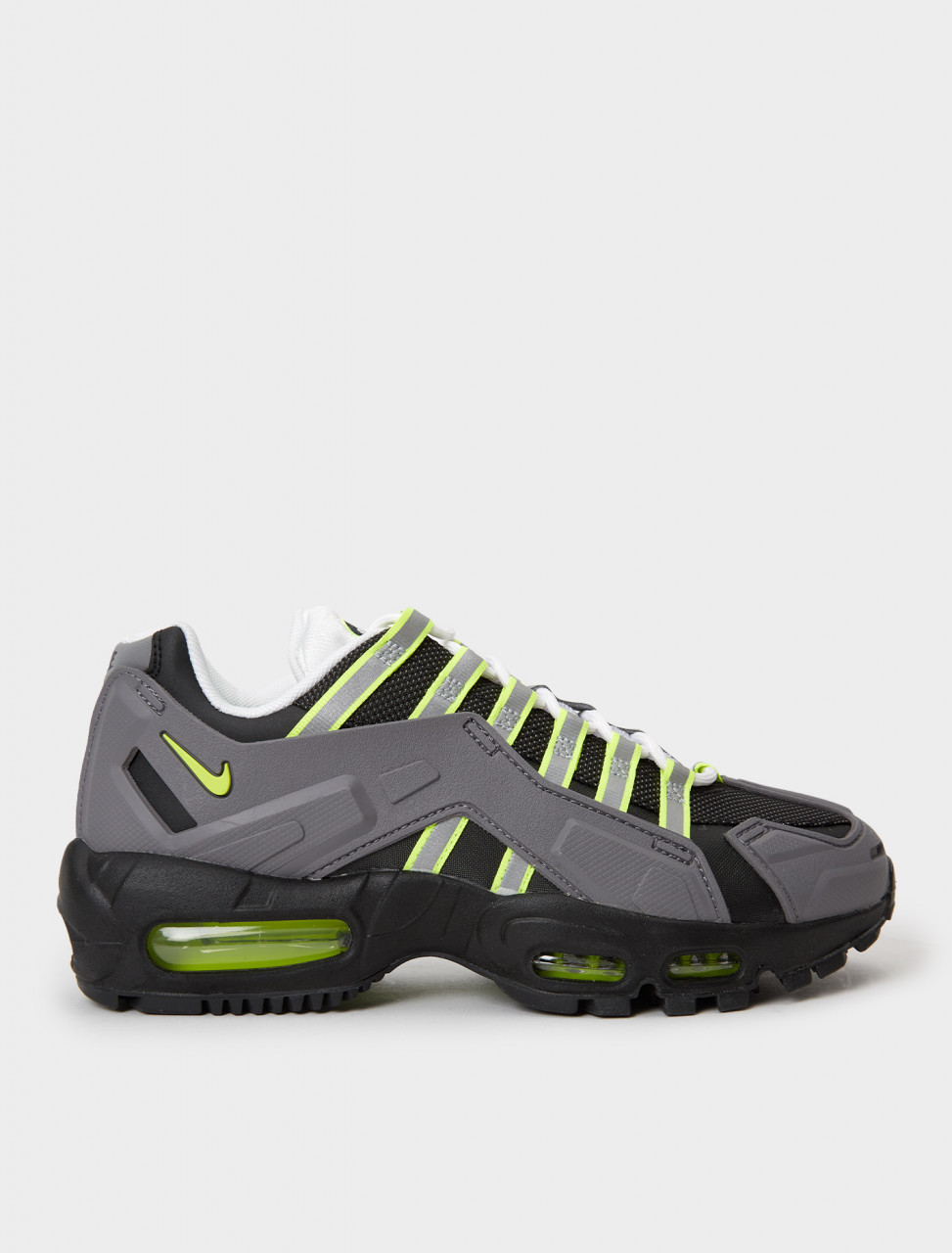 CZ3591-002 NIKE NDSTRKT AM 95 BLACK NEON YELLOW MEDIUM GREY
