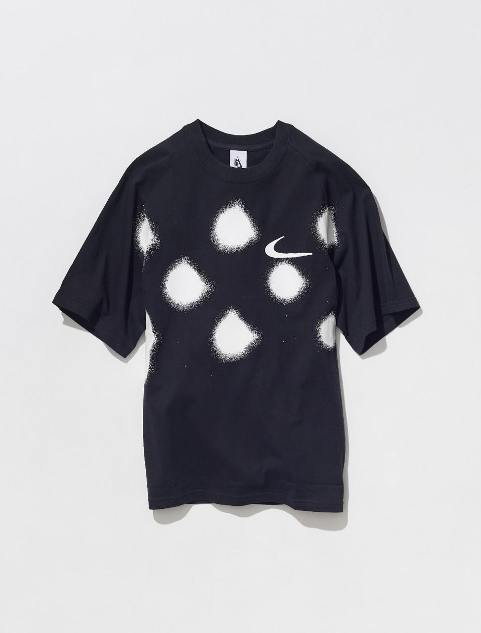 CU2477 010 NIKE X OFF WHITE T SHIRT IN BLACK