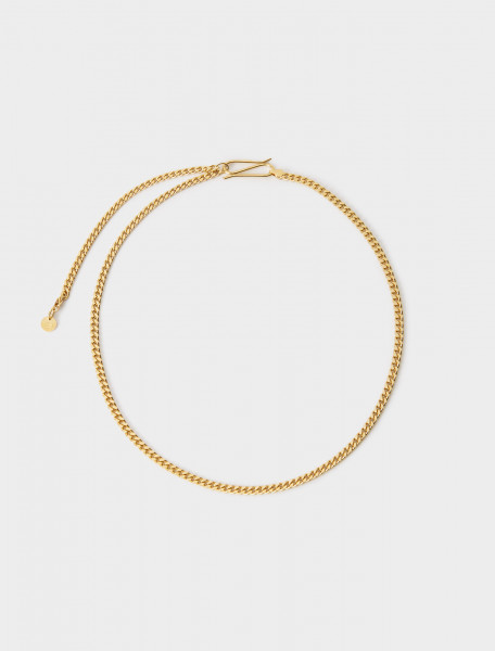 CHAINGOLD LANI LEES CHAIN CHOKER GOLD PLATED