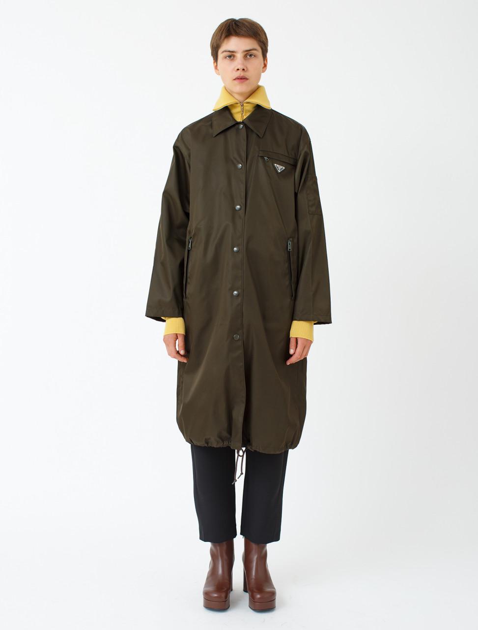 Nylon Gabardine Raincoat