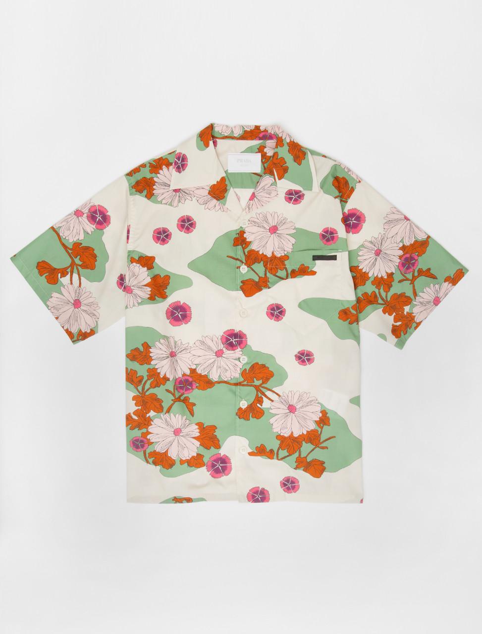 Poplin Daisy Shirt