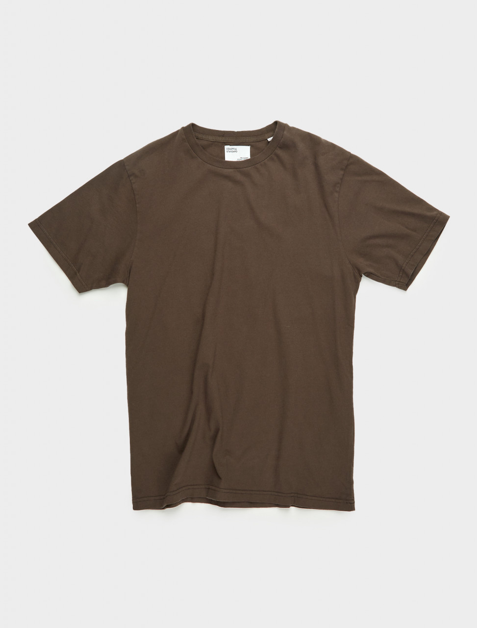 307-CS1001-CB COLORFUL STANDARD CLASSIC ORGANIC TEE COFFEE BROWN