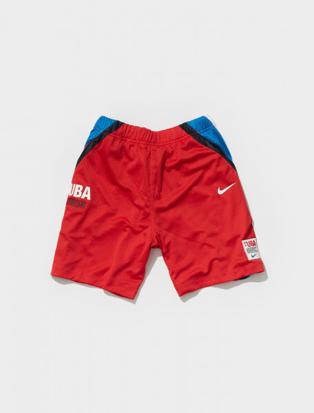 CW8012 611 NIKE X UNDERCOVER SHORTS IN UNIVERSITY RED