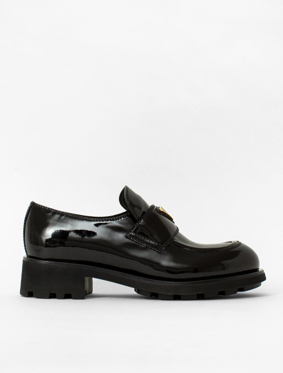 Platform Patent Leather Loafer