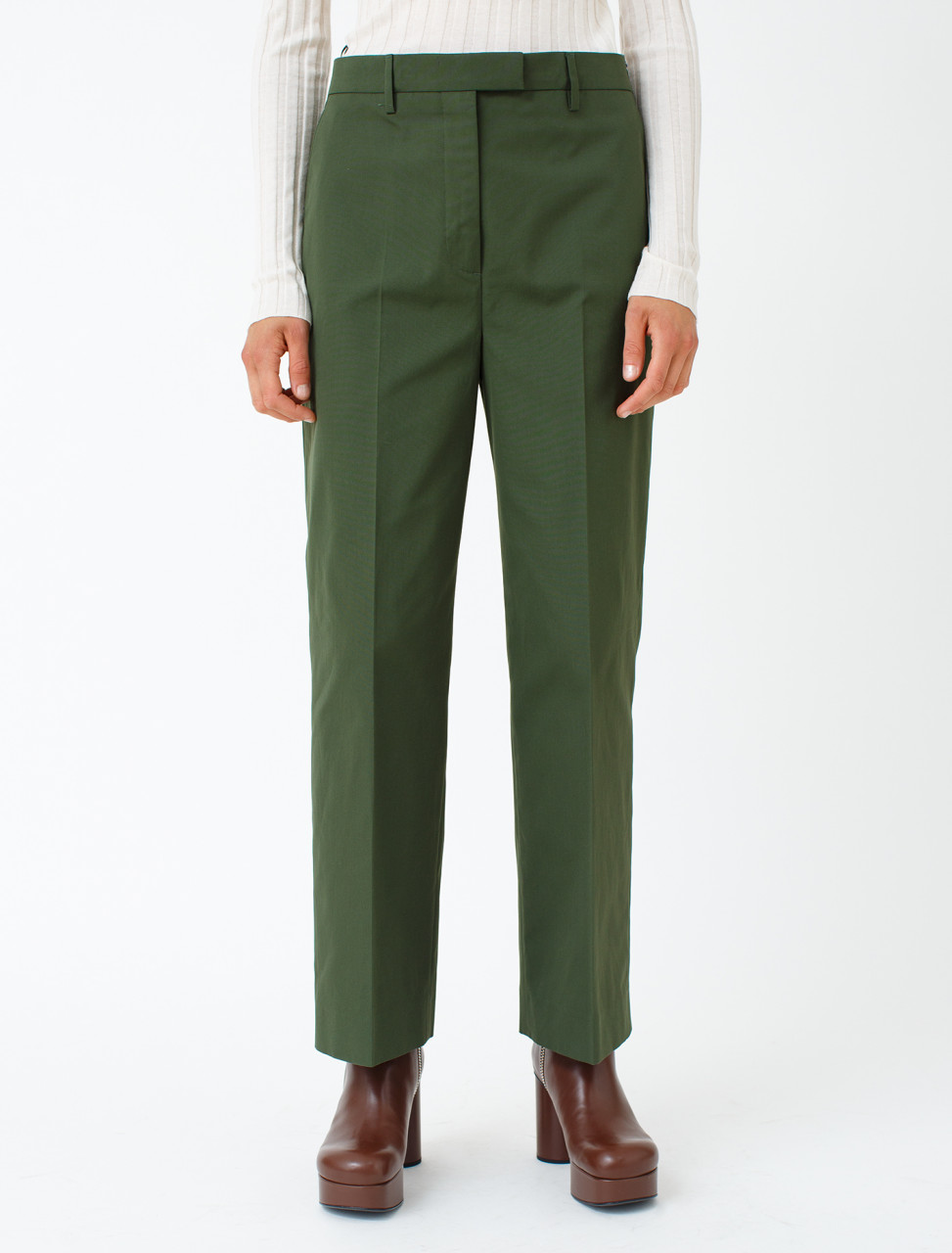 Cotton Poplin Trouser
