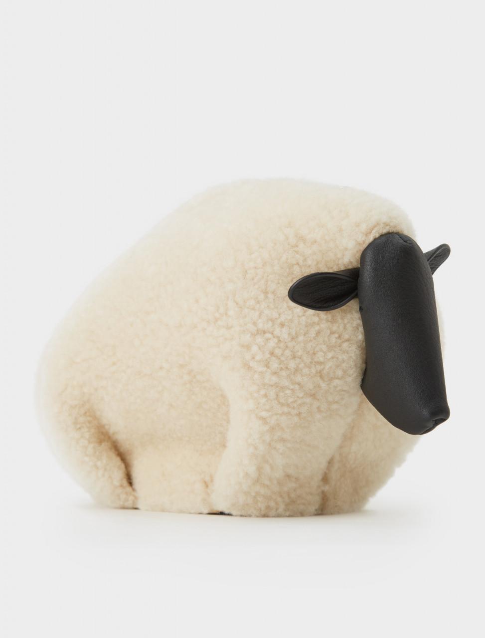 251-A623SH1X01 LOEWE SHEEP BAG NATURAL