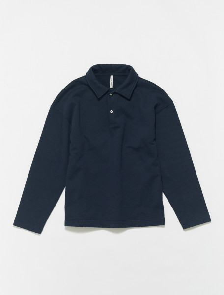 606060-150 ANOTHER ASPECT ANOTHER POLO SHIRT 1.0 IN NIGHT SKY NAVY
