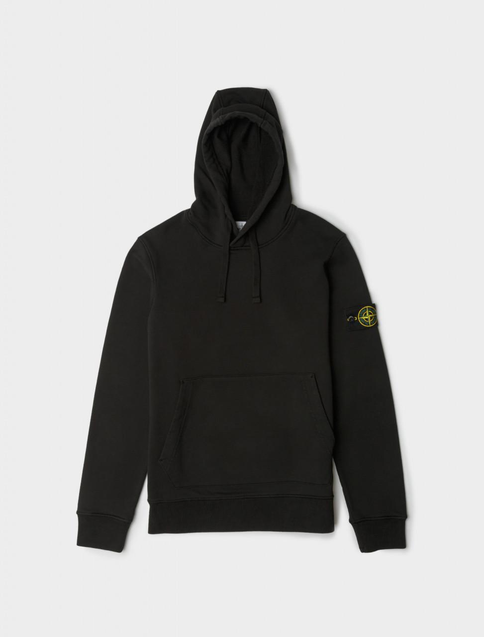 Hooded Sweatshirt in Black