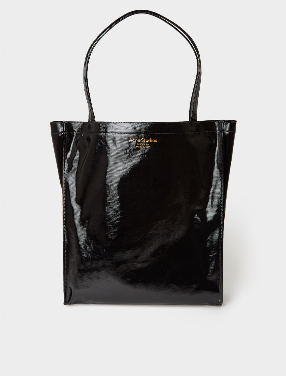 C10079-900 ACNE STUDIOS TOTE BAG BLACK