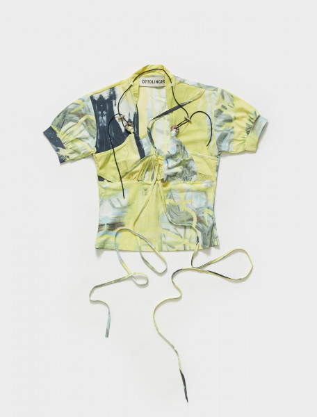 SS21TO06MAY OTTOLINGER STONE TOP MARKUS IN PRINT YELLOW