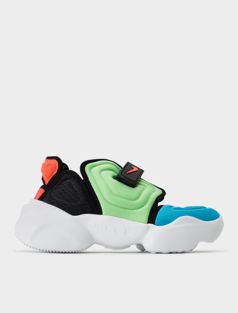 Nike Womens Aqua Rift Sneaker Sandal in Blue Fury Side