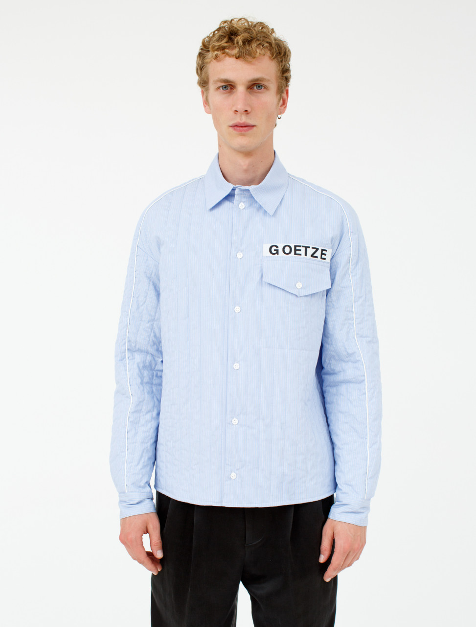 Vince Quilted Shirt