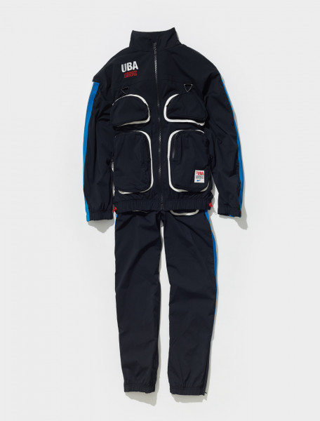 CW8009 010 NIKE X UNDERCOVER TRACK SUIT IN BLACK