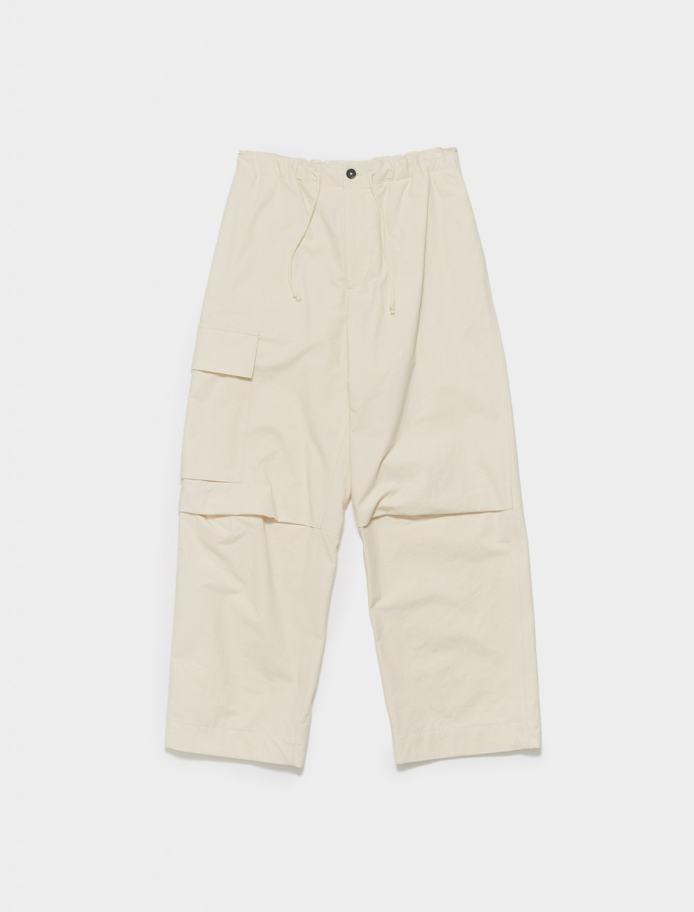 JPUS310705-MS242600-280 JIL SANDER WASHED CARGO PANTS IN OPEN BEIGE