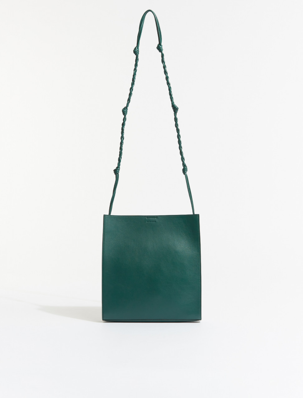 JSMS853172-MSB00035N-308 JIL SANDER TANGLE MEDIUM BAG IN DARK GREEN