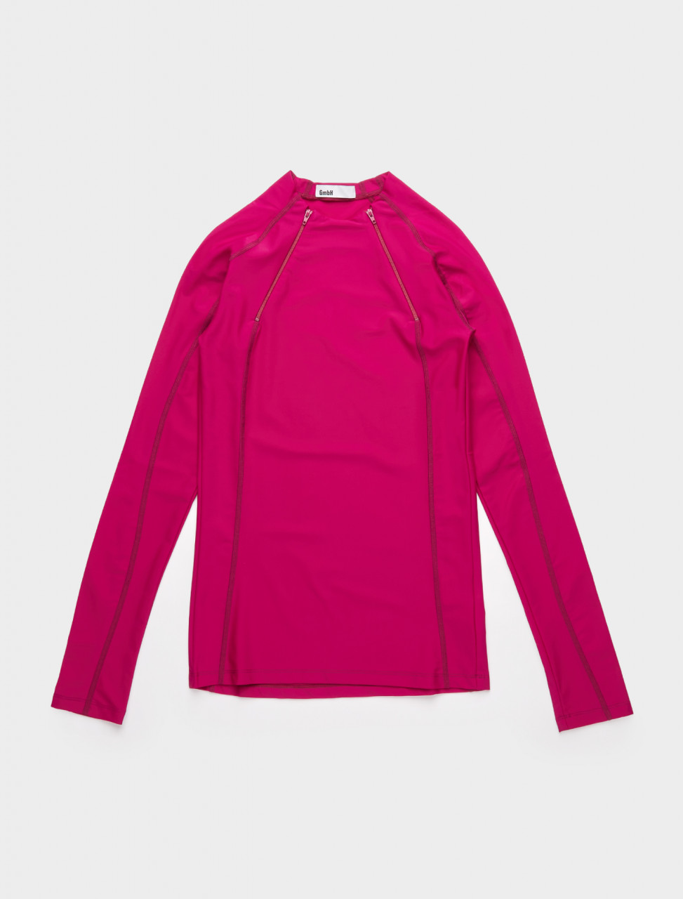 226-ANDE-AW20-P GMBH ANDE LONG SLEEVE TOP PURPLE
