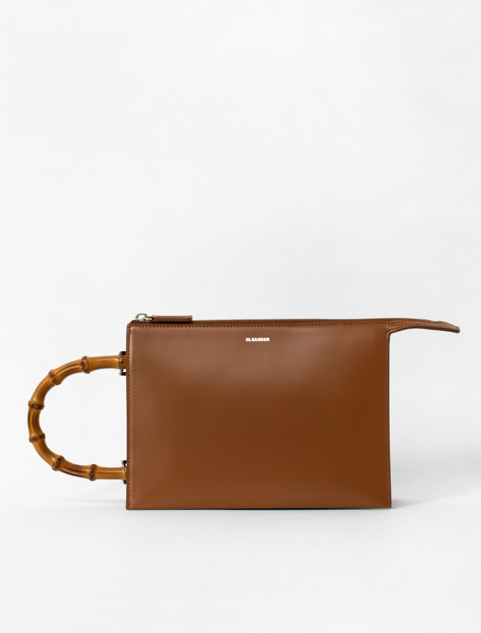 Bamboo Calfskin Bag Small
