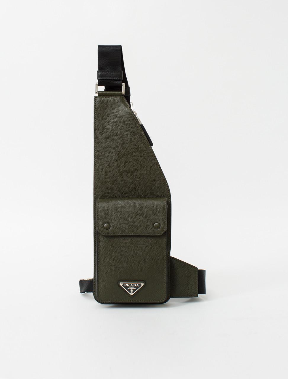 Cross Body Bag in Saffiano Leather