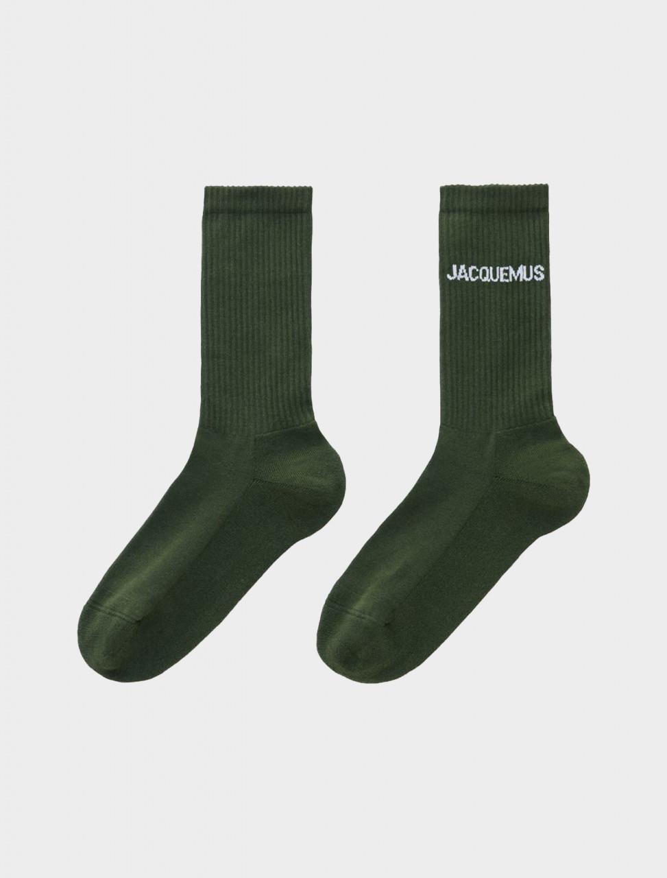 Les Chaussettes Jacquemus Green