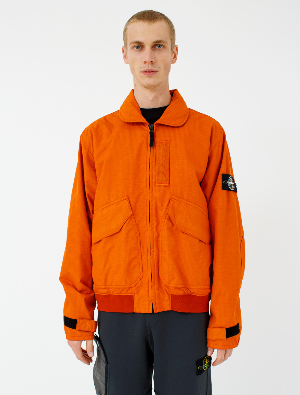 Jacket in Orange