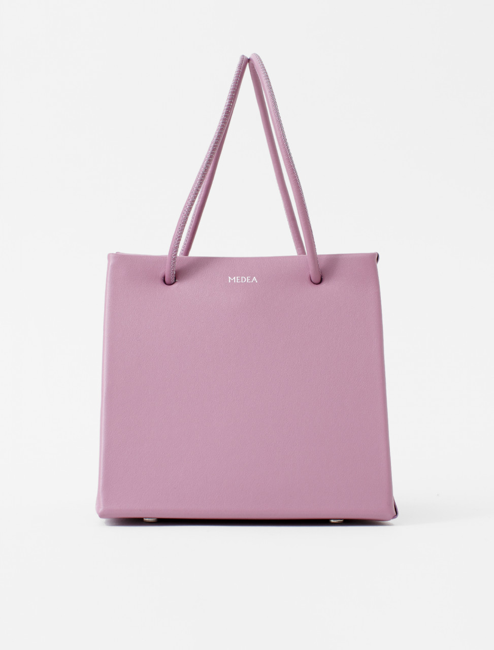 Ice Leather Tote in Orchid