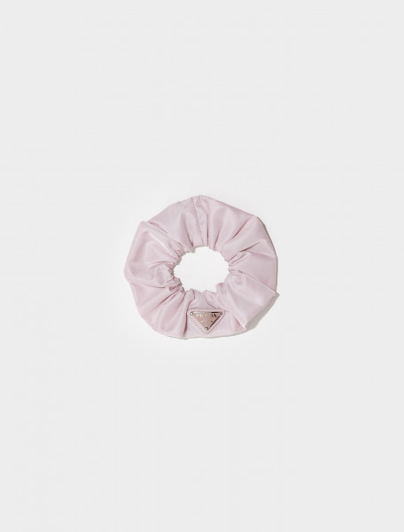 Re-Nylon Scrunchie in Alabaster