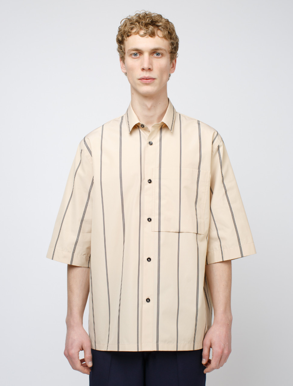 Shirt in Open Beige