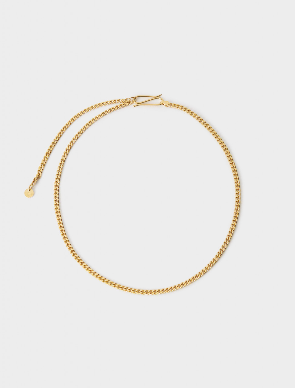 CHAINGOLD LANI LEES CHAIN CHOKER GOLD PLATED