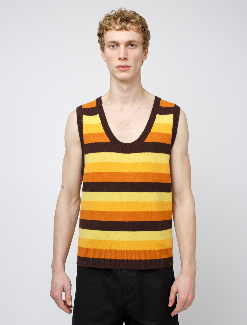Naffs Sleeveless Knitted Top