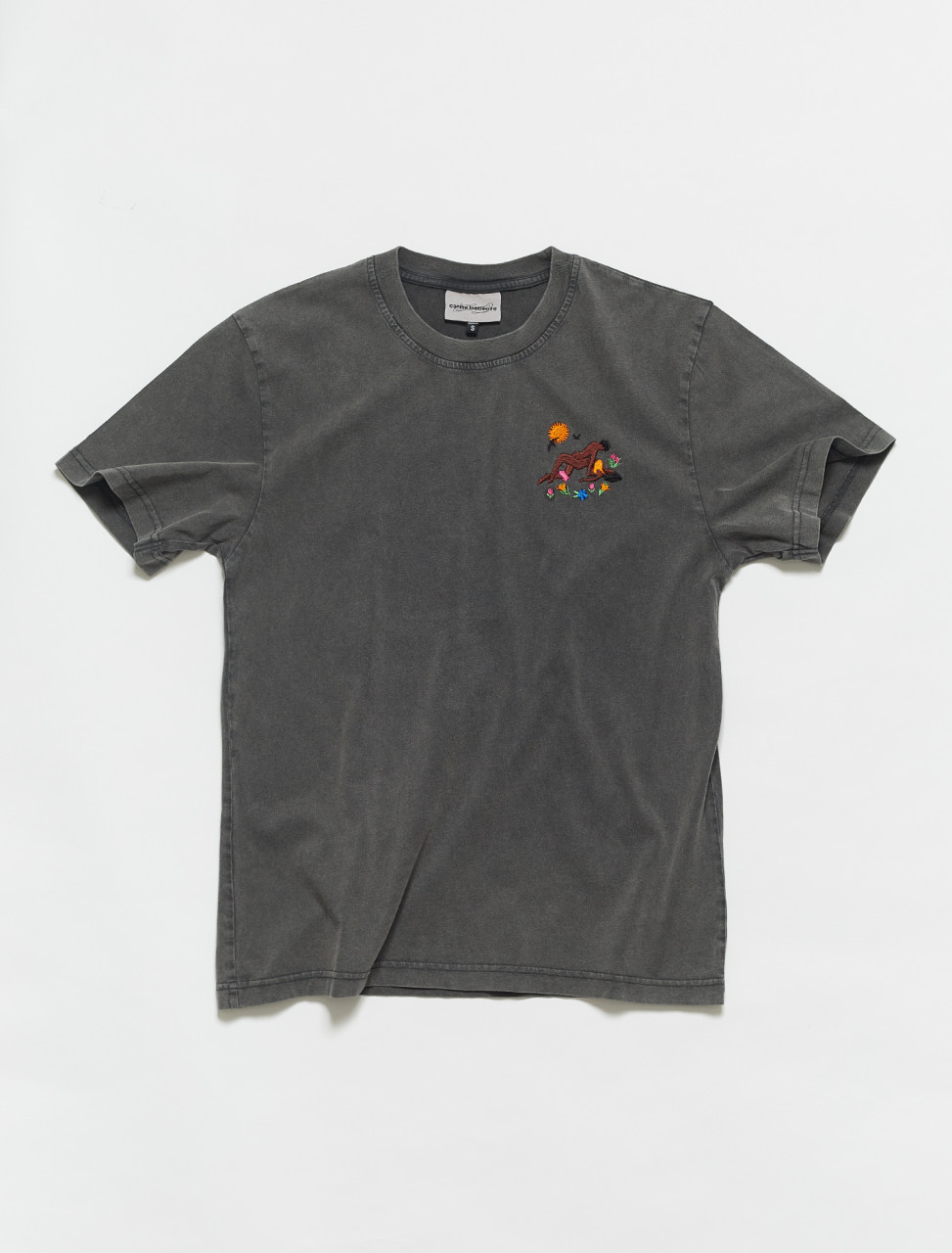 PRESS21TS02-WB CARNE BOLLENTE Beg Of Roses T Shirt