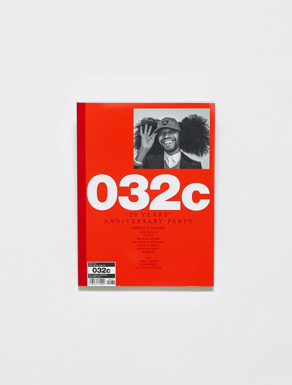 419723671500900038 032C MAGAZINE ISSUE 38