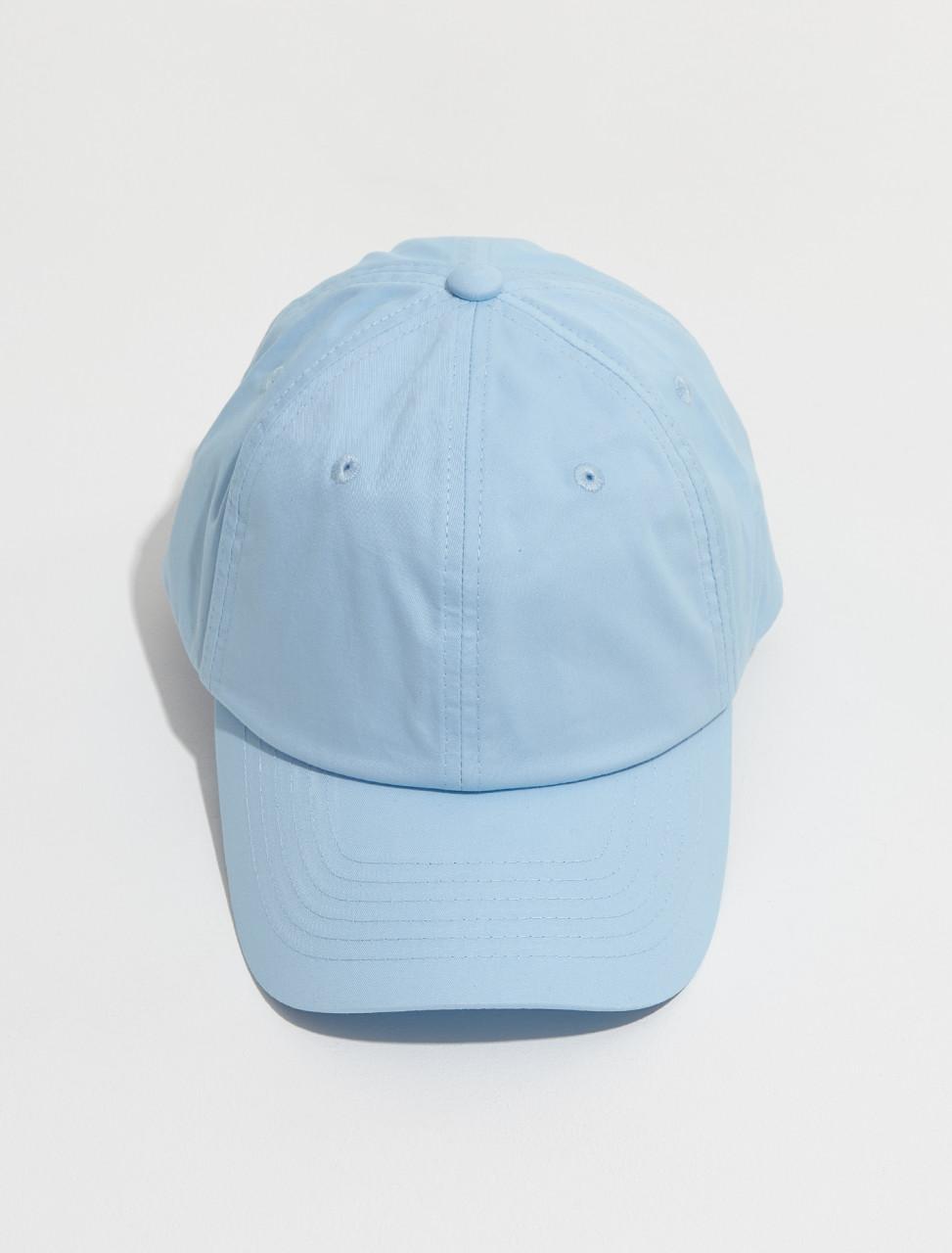 C40169 228 FA UX HATS000105 ACNE STUDIOS CUNOV LIGHT TWILL FACE CAP IN LIGHT BLUE