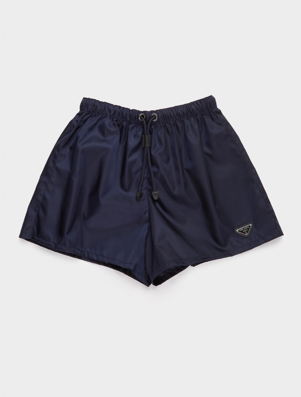 22H840-F0008 PRADA RE NYLON SHORTS BLUE