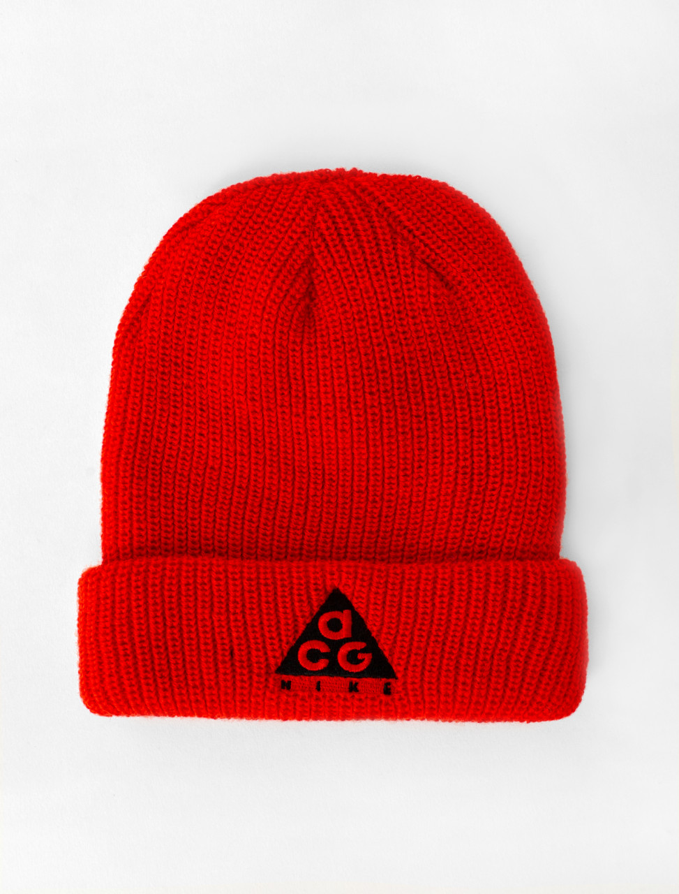ACG Beanie in Habanero Red