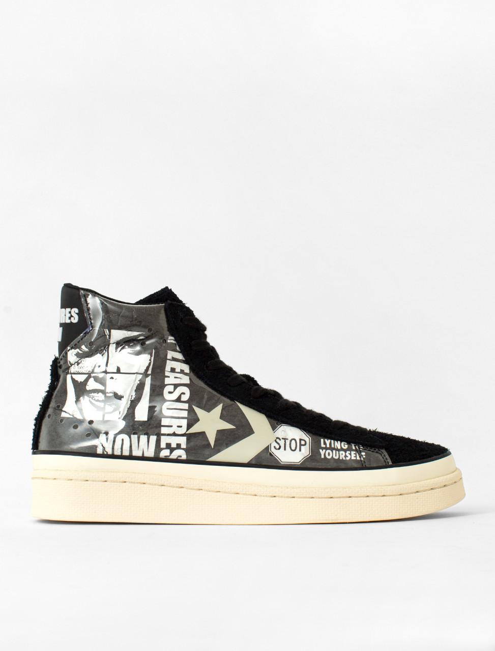 x Pleasures Pro Leather Mid Sneaker