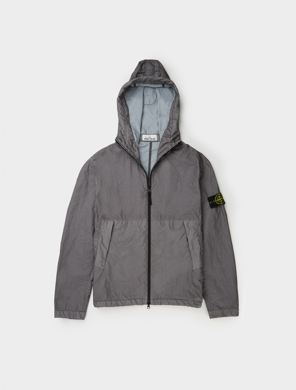 MEMBRANA 3-Layer Anorak in Pewter