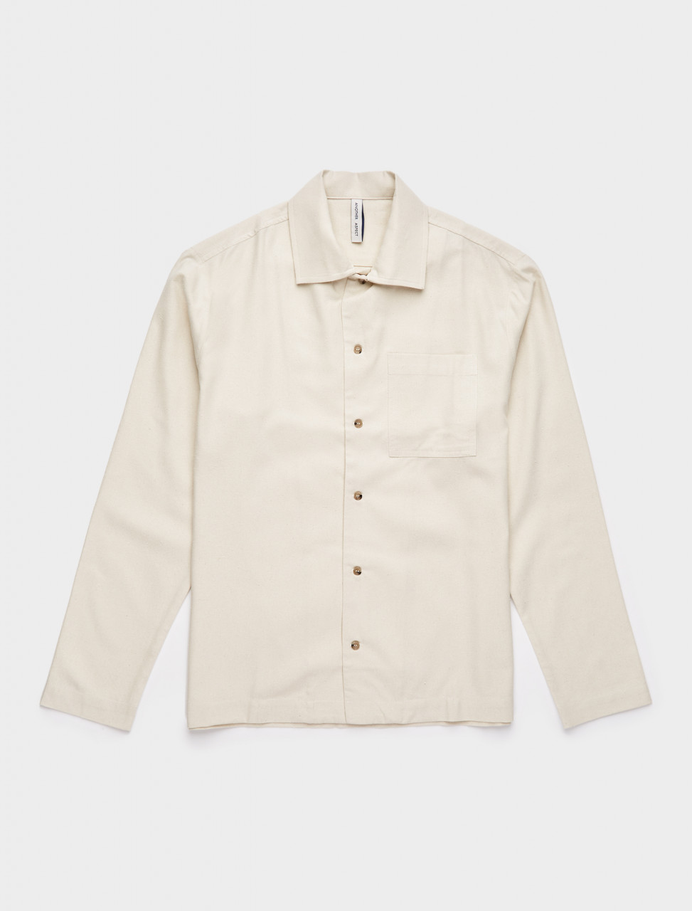 344-123459-004 ANOTHER ASPECT ANOTHER SHIRT 2.1 NATURAL