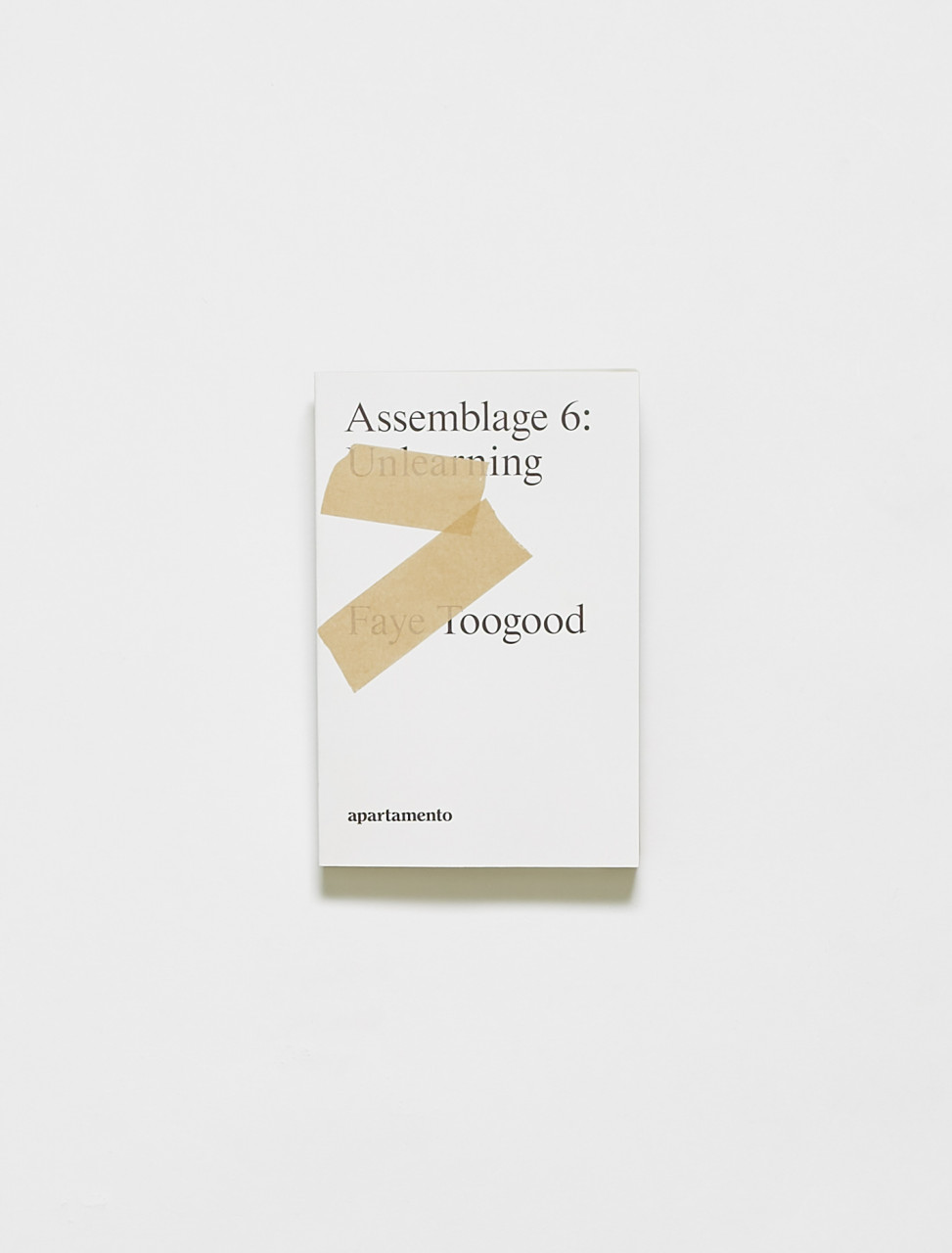 9788409277803 FAYE TOOGOOD ASSEMBLAGE 6