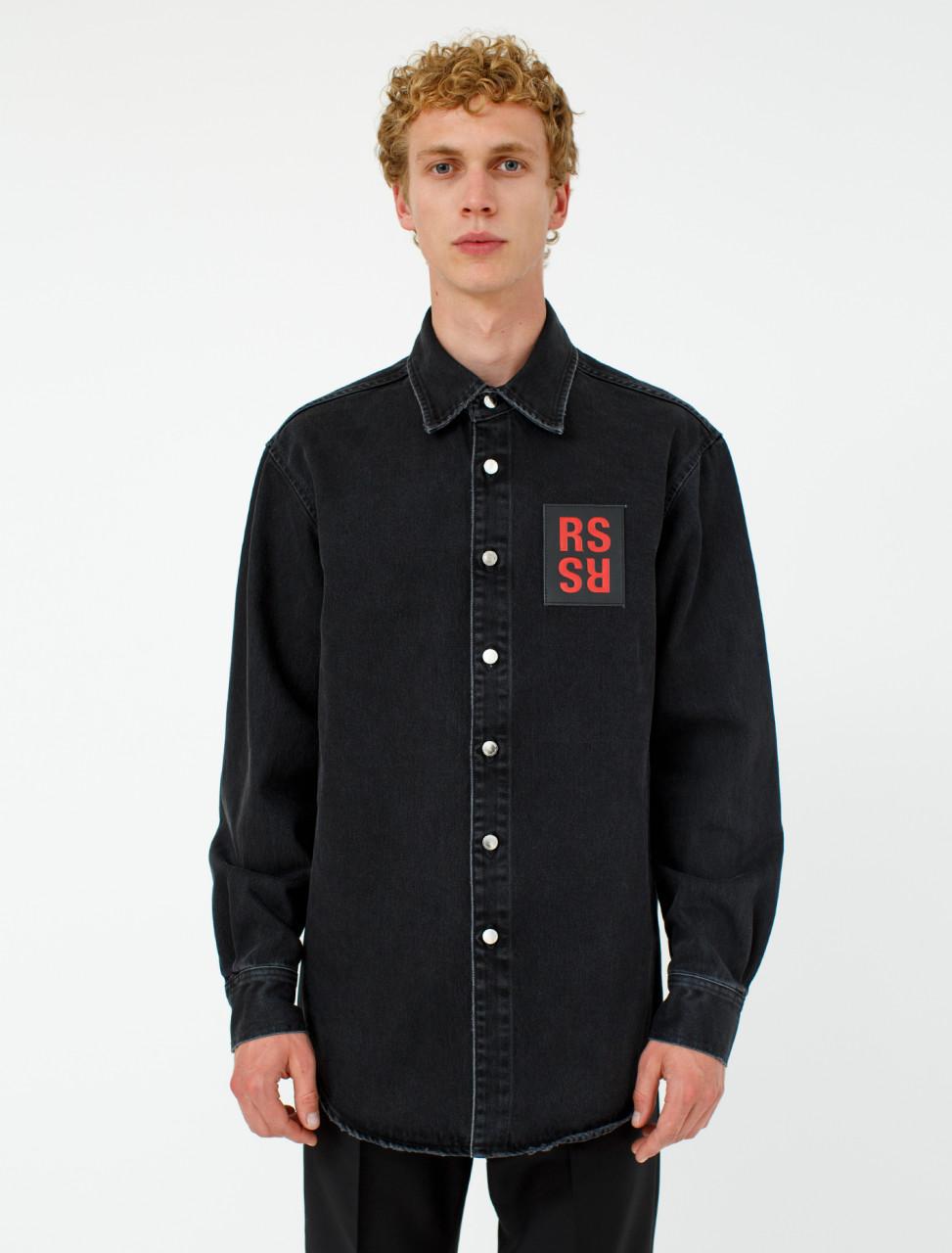 Carry Over Slim Fit Denim Shirt