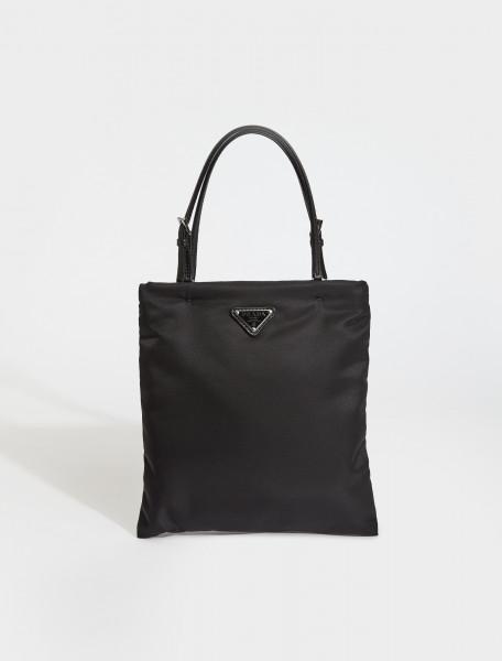 1BA252-F0002 PRADA Nylon Tote Bag in Black